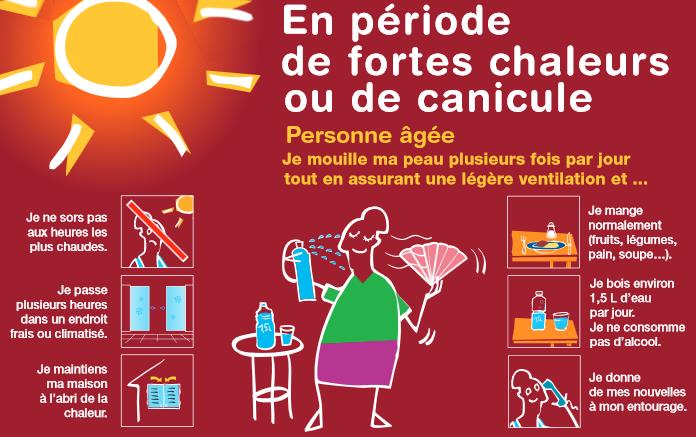 Canicule et fortes chaleurs risques recommandations et - Coup de chaleur definition ...