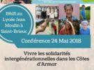Conférence «vivre les solidarités intergénérationnelles dans les Côtes d'Armor»