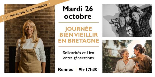 Journée Bien Vieillir en Bretagne – mardi 26 octobre à Askoria Rennes